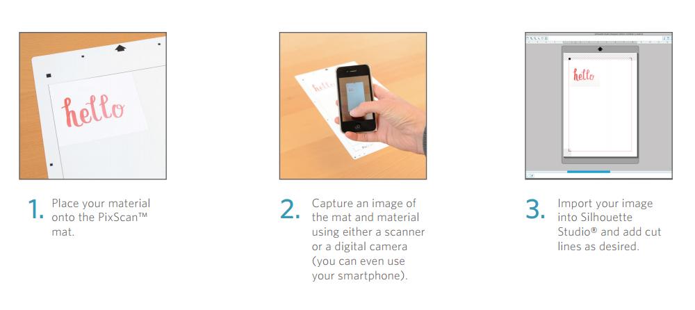 Silhouette CAMEO PixScan Cutting Mat